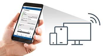 Apps liefern dem Anwender die smarten Daten aus Condition Monitoring und Event Tracking der Anlage