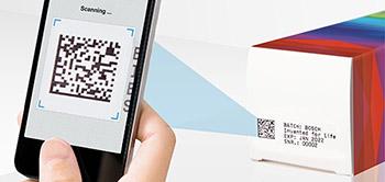 Track & Trace Lösung mittels QR Code und mobilem Device