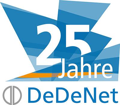 Jubiläumsangebot für Neukunden zu 25 Jahren DeDeNet