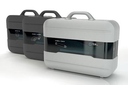 Ein Koffersystem für Stempel, Segmente und Matrizen erleichtert den Produktionsalltag.