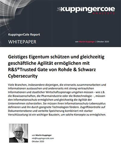 Whitepaper von Rohde & Schwarz Cybersecurity: Geistiges Eigentum schützen und Unternehmensflexibilität ermöglichen