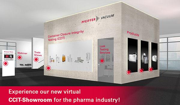 Zahlreiche Interaktions- und Informationsmöglichkeiten über die Integritätsprüfung von pharmazeutischen Behälterverschlüssen