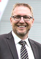Volker Bluhm, Prokurist und Mitglied der Geschäftsleitung der Bluhm Systeme.