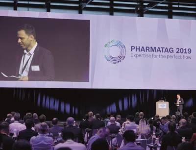 Dr. Alexander Giehl auf dem Pharmatag 2019 von Bosch Packaging