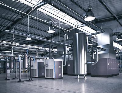 Atlas Copco Kompressorstation