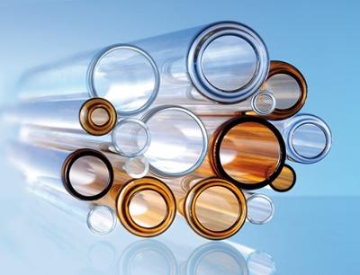 Borosilikat-Glasröhren