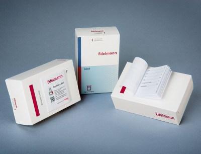 Edelmann Booklet Label