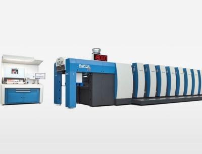 Neue Offset-Druck-Maschine KB Rapida 76