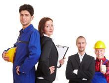 Zeitarbeiter mit hoher Qualifikation