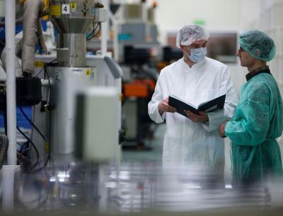 Produktion Kunststoffverpackungen