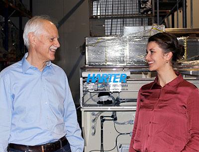 Neben Reinhold Specht ist seit 1. Januar 2021 auch Regina Mader Geschäftsführerin bei Harter