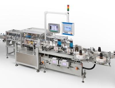 Für die Kennzeichnung von Biopharmaka hat das US-Unternehmen Catalent Biologics zwei Herma-Rundum-Etikettiermaschinen vom Typ 132M HC in Betrieb genommen
