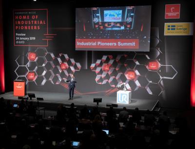 Industrial Pioneers Summit auf der Hannover Messe 2019