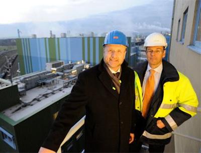 Jürgen Vormann und Dr. Joachim Kreysing blicken auf ein erfolgreiches Geschäftsjahr 2016 zurück