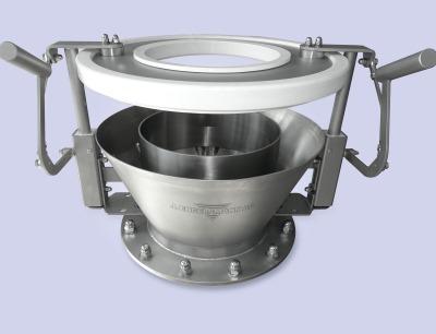 Entleertrichter in Hygienic Design-Ausführung von J. Engelsmann