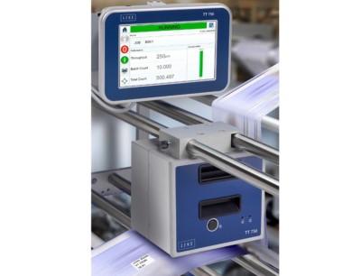 Thermotranfserdirektdrucker Linx TT 750 an Produktionslinie