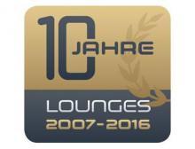 Logo Lounges 2016 zum 10-jährigen Jubiläum