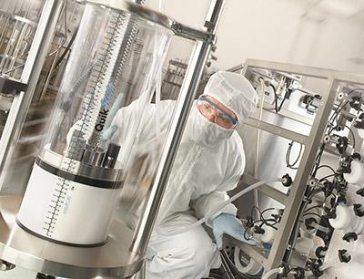 Verbesserung des Impfstoffe Herstellungsprozesses