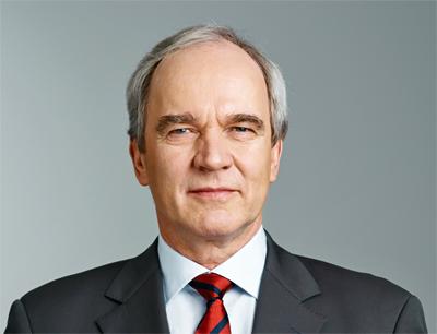 Karl-Ludwig Kley, Vorsitzender der Geschäftsleitung von Merck