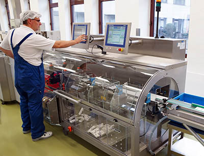 Komplettsystem XS2 MV TE im Einsatz beim Pharmaunternehmen Krewel Meuselbach