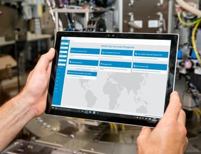 Das T-Cam Portal ermöglicht beispielsweise den Zugriff auf Dokumente und Bedienungsanleitungen