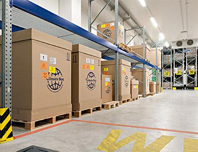 Neues Kühllager mit 900 zusätzlichen Lagerplätzen
