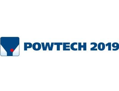 Logo der Powtech 2019