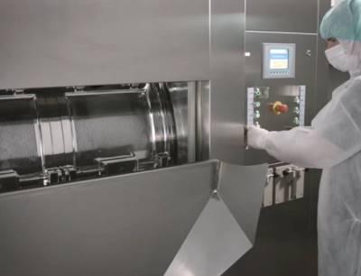 Waschen, Sterilisieren und Silikonisieren pharmazeutischer Gummi- und Kunststoffkomponenten