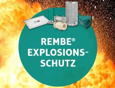 REMBE ist der Spezialist für Explosionsschutz und Druckentlastung weltweit