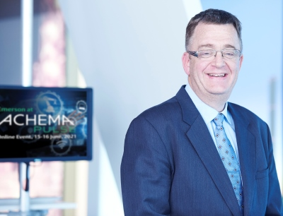 Roel Van Doren, Group President Global Sales bei Emerson