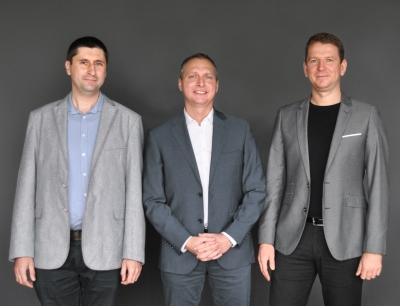 Die neue Geschäftsführung bei Ruland Tychy (v.l.n.r.): Bartłomiej Berger, Piotr Cieplinski, Marek Winkler