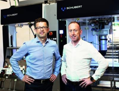 Hartmut Siegel und Fritz Kipfer von Gerhard Schubert
