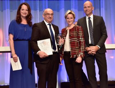 Preisverleihung für den Global Connect Award 2016