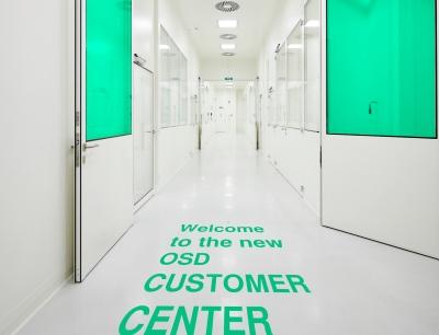 Das 600 Quadratmeter große OSD Customer Center in Waiblingen