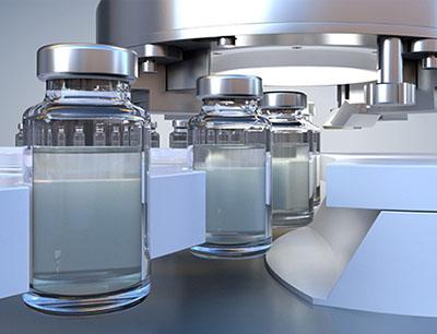 Optische Vial Prüfung erfolgt am Ort der Fehlerentstehung unmittelbar im Anschluss an den Verschließprozess