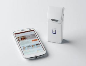 In Faltschachteln befinden sich integrierte NFC-Chips