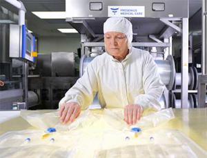 Fresenius Medical Care: Produktion Dialyselösung
