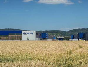 Pfenning Logistics mit Hauptsitz in Heddesheim