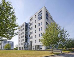 Der Hauptsitz von Systec & Services GmbH im Karlsruher Technologiepark