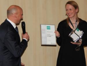 Übergabe des Clean 2018 Fraunhofer Reinheitstechnik-Preis