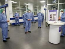Start der Abfüllanlage für den künftigen Sanofi-Impfstoff gegen Covid-19