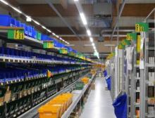 Aufgrund der deutlich geringeren Wärmeabstrahlung der LEDs gegenüber den zuvor eingebauten konventionellen Leuchtstofflampen wird die Klimatechnik erheblich entlastet
