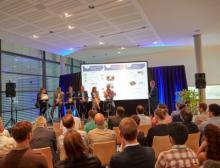 Unternehmenspräsentation mit anschließender Podiumsdiskussion während der Summer Networking Reception