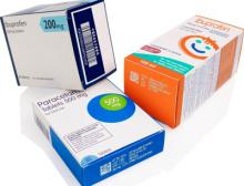 Domino Druckmuster Pharma Codes Laser