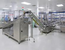 Vollautomatische Produktionsanlage
