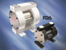Flux Druckluft-Membranpumpen RFM/RFML konform FDA CFR 21