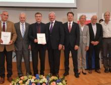 Gesundheitsforschung im Fokus: Beteiligte bei der Eröffnung des Project Center for Drug Discovery and Delivery