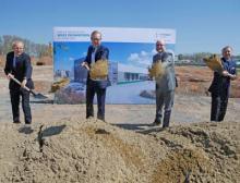 Infraserv Höchst investiert rund 35 Millionen Euro in ein hochmodernes Lagergebäude