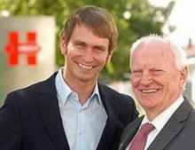 Jan und Günther Hecht von Hecht Technology GmbH