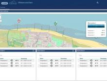 Muster-Applikation einer Windfarm